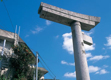 Sanno Shrine (One-Legged Torii Arch)